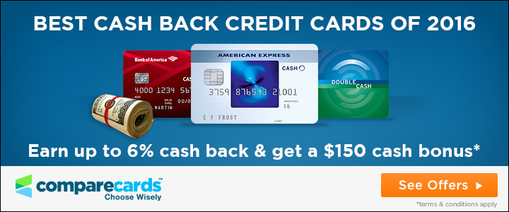 cashback rewards credit cards