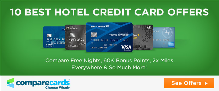 10 best hotel points credit cards