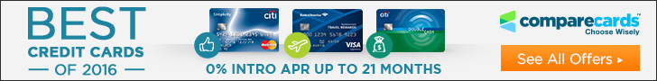 0 APR credit cards from CompareCards