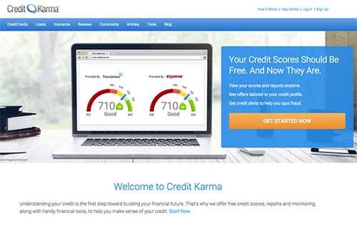 Credit Karma snapshot