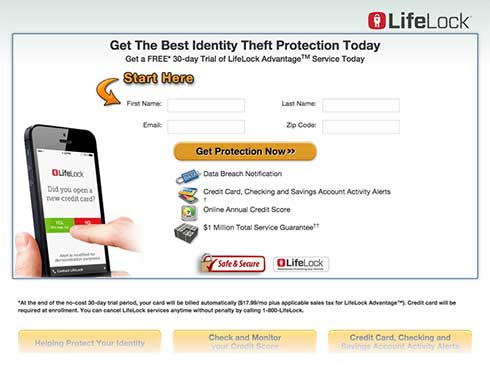 Lifelock snapshot