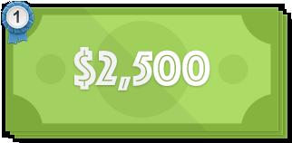 $2,500 price