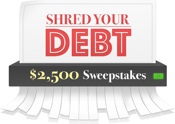 Shred Your Debt banner