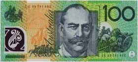 Cash from Australia