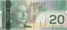 Cash from Canada
