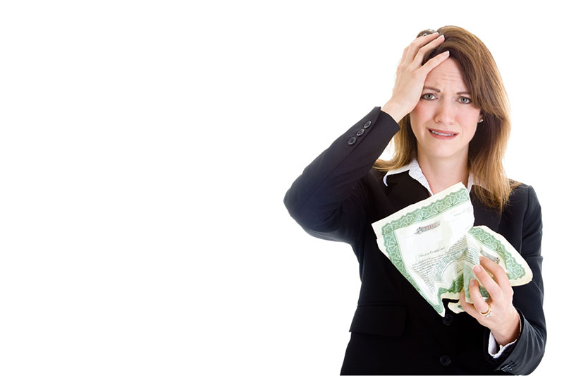 Stock broker lady