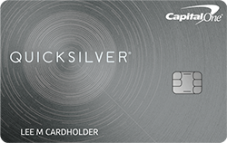 Capital One Quicksilver Cash Rewards