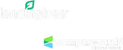 Lending Tree and CompareCards logo