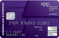 Starwood Preferred Guest<sup>&reg;</sup> Business Credit Card From American Express
