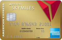 Gold Delta SkyMiles<sup>&reg;</sup> Credit Card from American Express