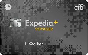 Expedia<sup>&reg;</sup>+ Voyager Card from Citi