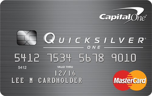 EMV Chip Credit Card: QuicksilverOne