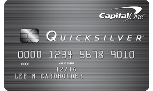 EMV Chip Credit Card: Quicksilver