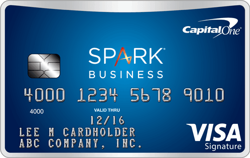 Capital One<sup>&reg;</sup> Spark<sup>&reg;</sup> Miles for Business