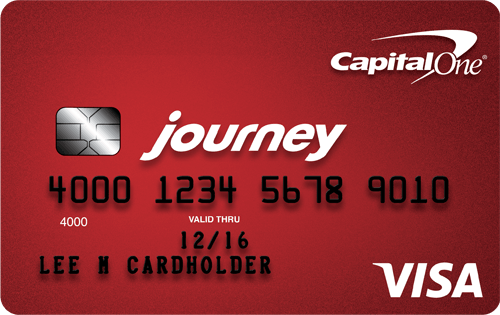 Student Credit Card: Journey Capital One