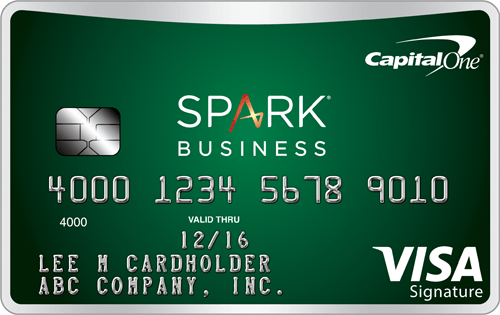 Capital One<sup>&reg;</sup> Spark<sup>&reg;</sup> Cash Select for Business