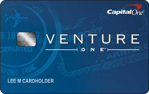 No Foreign Transaction Fee Credit Card: VentureOne