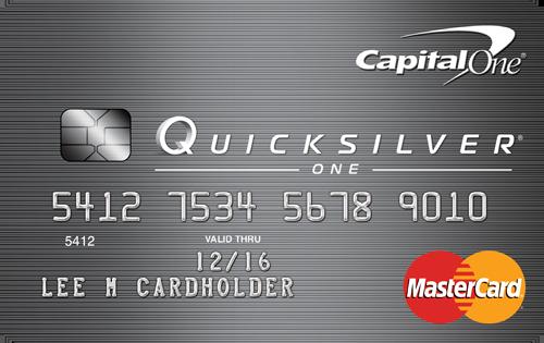 No Foreign Transaction Fee Credit Card: QuicksilverOne
