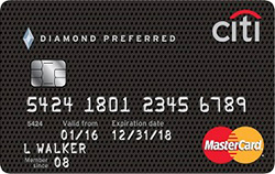 No Annual Fee Credit Card: Citi Diamond