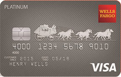 Wells Fargo Platinum Visa<sup>&reg;</sup> Card
