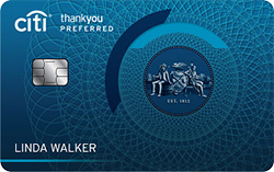 Credit Cards for College Students - Citi ThankYou® Preferred Card -Earn 2,500 Bonus Points