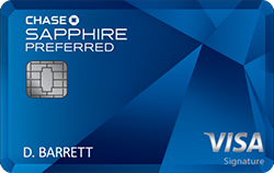 Chase Sapphire Preferred<sup>&reg;</sup> Card