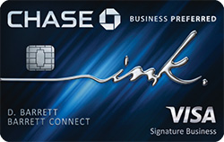 ink business preferred&#8480 credit card