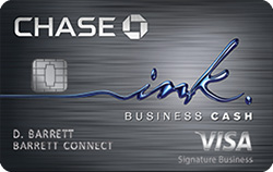 Ink Business Cash<sup>®</sup> Credit Card