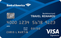 Reward Credit Card: BankAmericard