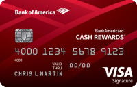 bankamericard cash rewards&#8482 credit card
