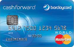 Barclaycard CashForward&trade; World Mastercard<sup>&reg;</sup>