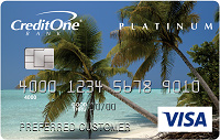 credit one bank visa credit card with cash back rewards