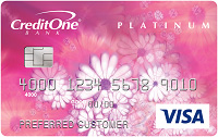 credit one bank platinum visa for building credit
