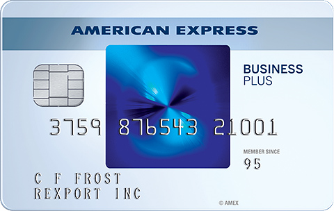 The Blue Business<sup>®</sup> Plus Credit Card from American Express