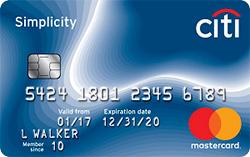 Balance Transfer Credit Card: Citi Simplicity