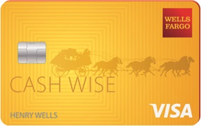 wells fargo cash wise visa card