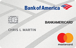Low Interest Credit Card: BankAmericard
