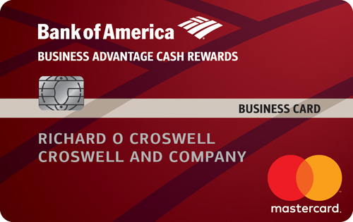 Low interest business cards 0 business credit card bank of america business advantage cash rewards mastercard credit card reheart Images
