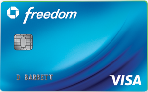 Gas Credit Card: Chase Freedom