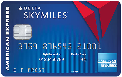 Blue Delta SkyMiles<sup>&reg;</sup> Credit Card from American Express