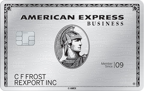 The Business Platinum<sup>&reg;</sup> Card from American Express