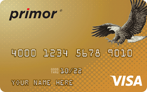 Green Dot primor<sup>&reg;</sup> Visa<sup>&reg;</sup> Gold Secured Credit Card