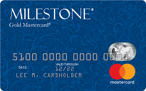 Milestone<sup>&reg;</sup> Gold Mastercard<sup>&reg;</sup>