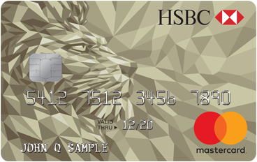 HSBC Gold Mastercard<sup>®</sup> credit card