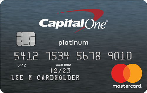 Capital One<sup>®</sup> Platinum Credit Card