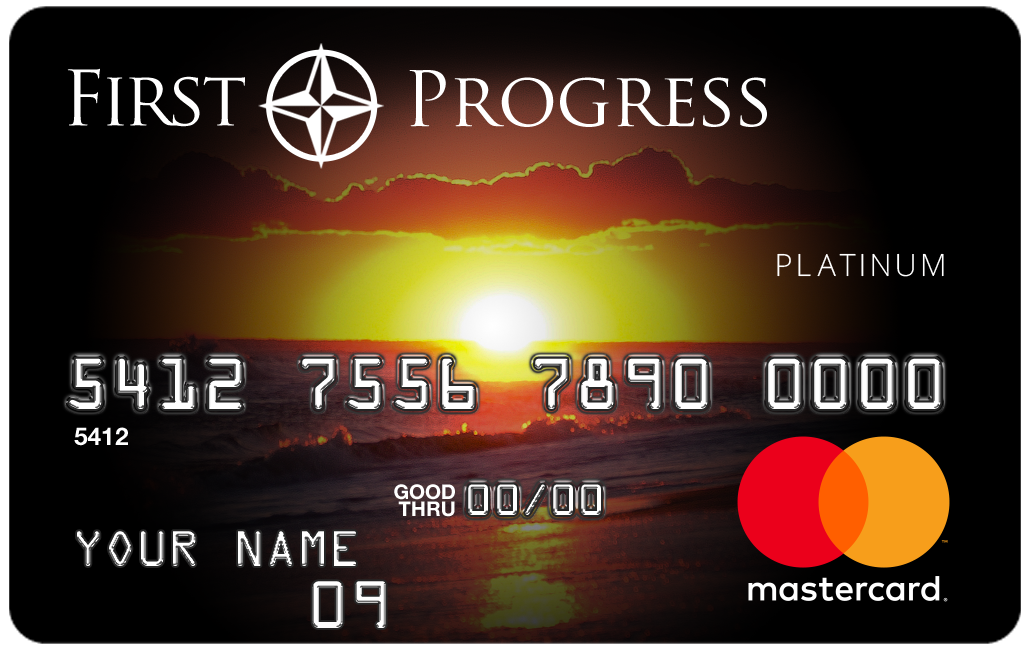 First Progress Platinum Select Mastercard<sup>&reg;</sup> Secured Credit Card