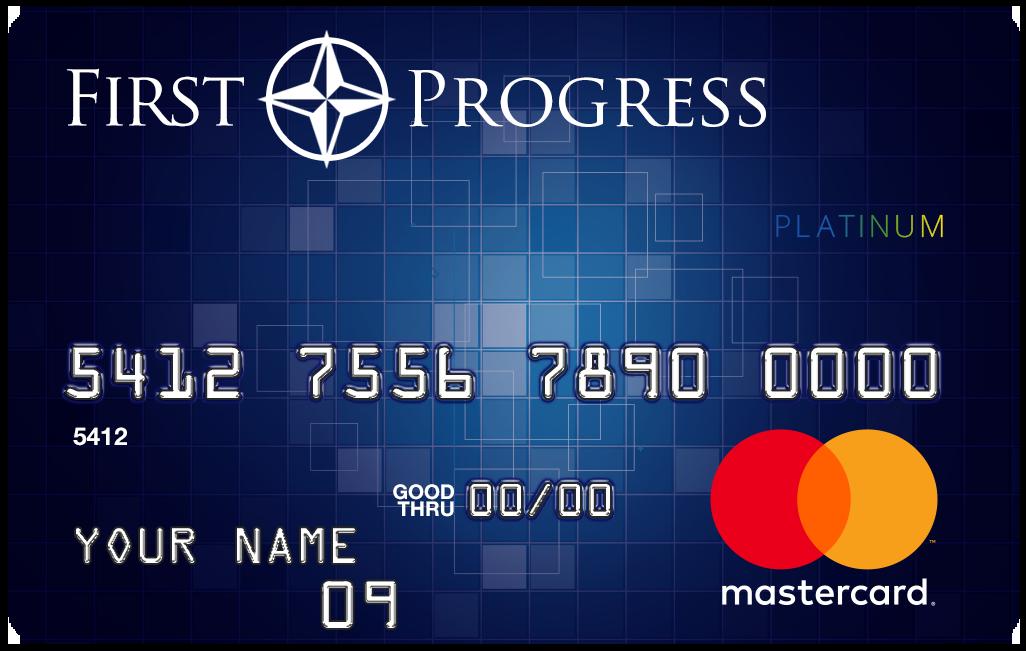First Progress Platinum Prestige Mastercard<sup>&reg;</sup> Secured Credit Card