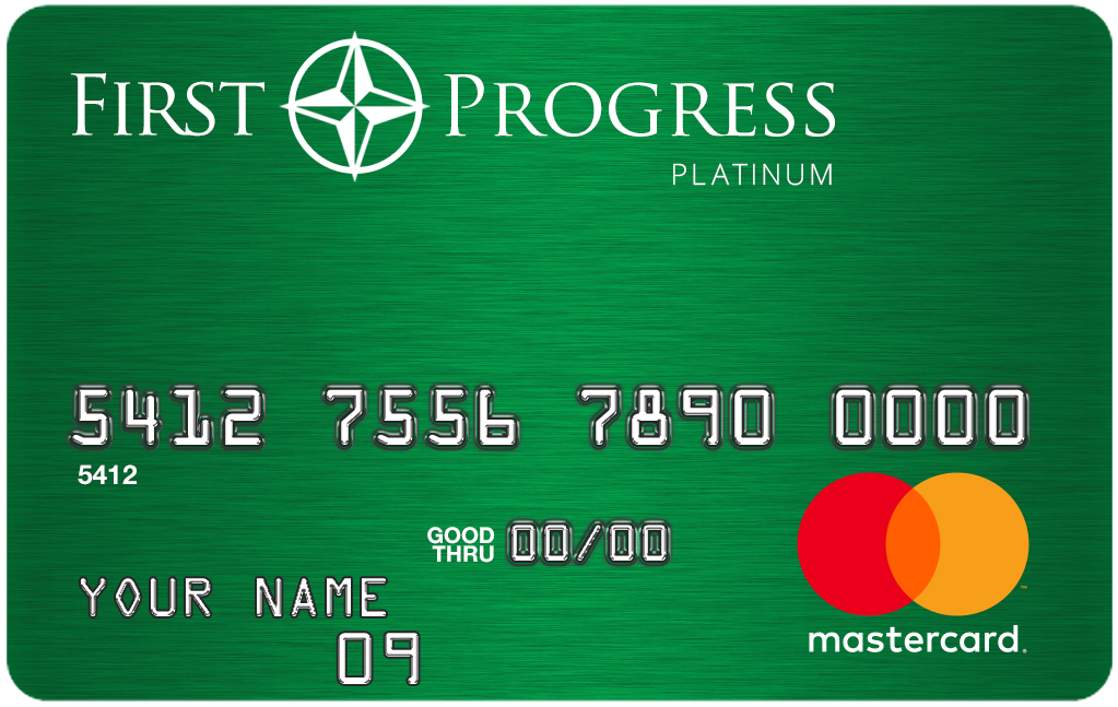 First Progress Platinum Elite Mastercard<sup>®</sup> Secured Credit Card