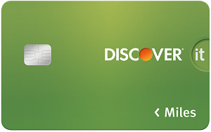 Travel Credit Card: Discover it Miles