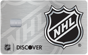 NHL<sup>&reg;</sup> Discover it<sup>&reg;</sup> card